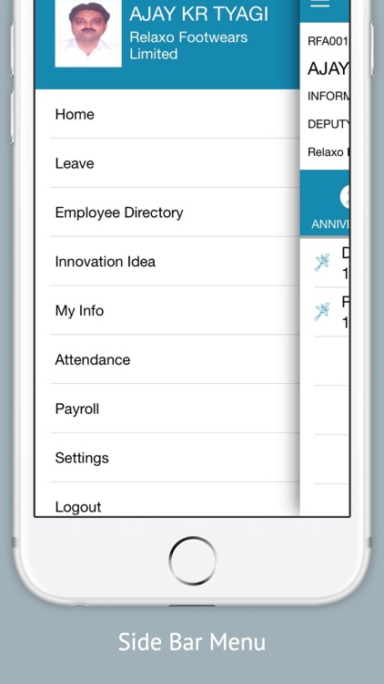 Relaxo Mobile Self Service screenshot-4