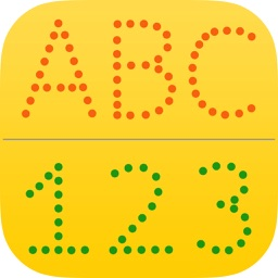 letter abc & 123 for kids : learn to write letters and numbers