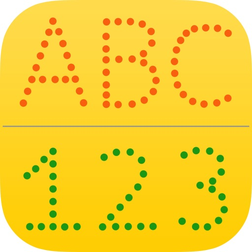 letter abc & 123 for kids : learn to write letters and numbers iOS App