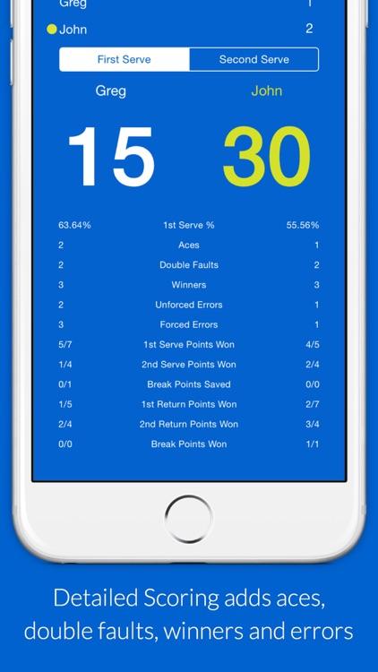 MatchTrack: Your Tennis Scorekeeper screenshot-3