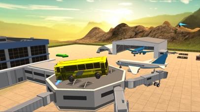 Flying Bus Driving Simulator - Racing Jet Bus Airborne Fever screenshot four