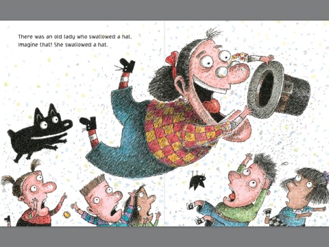 There Was An Old Lady Who Swallowed A Turkey By Lucille Colandro On