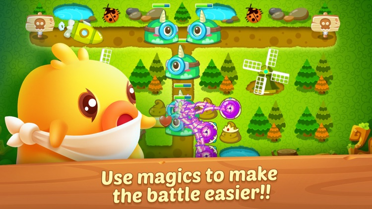 Carrot Defense  - Ice World Adventure screenshot-3