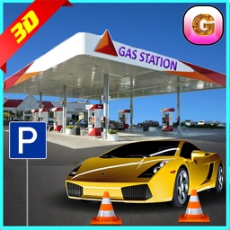 Gas Station Car Parking Simulator 2016 – New Free Crazy Patrol Pump Park Madness