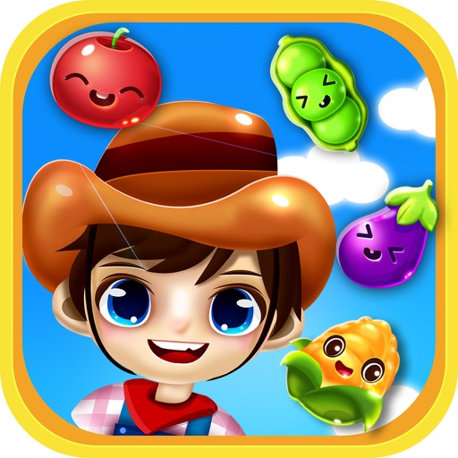 Garden Crush: The Best Fun Candy for Free 3 Match Puzzle
