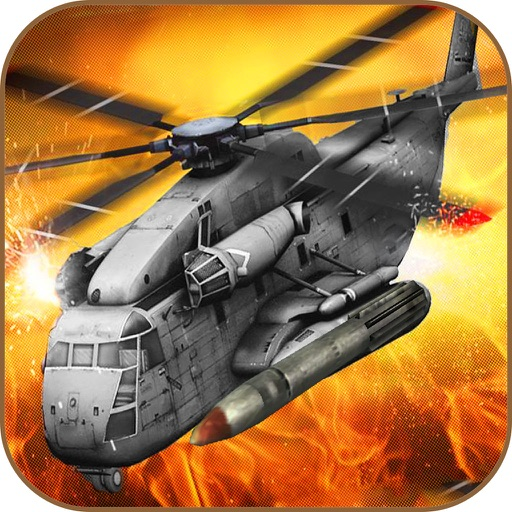 Army Gunship Helicopter 3D : Adventure Shooting