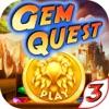 Super Gem Quest 3 - Diamond Match 3 Crush Mania