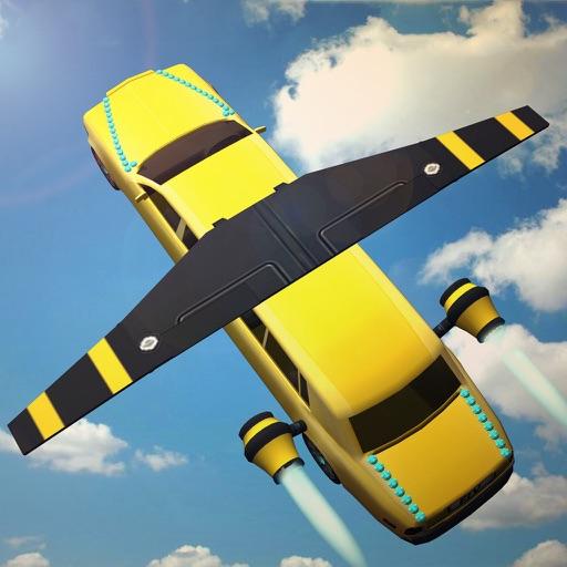 Flying Limo Driving simulator 2016