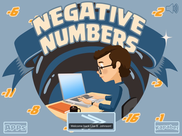 Negative numbers game - with addition, multiplication and subtraction!