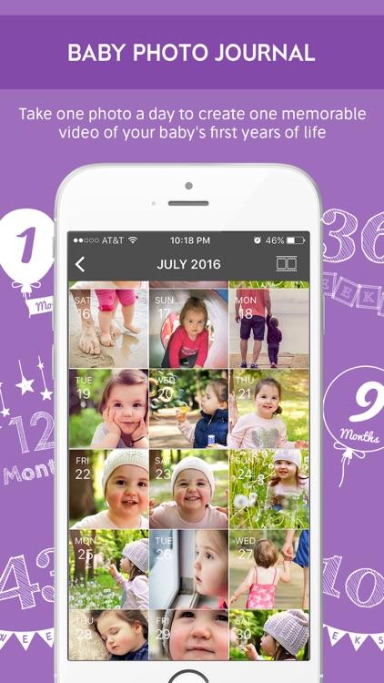 Bump and Baby Milestone Photo Editor Video Editor screenshot-3