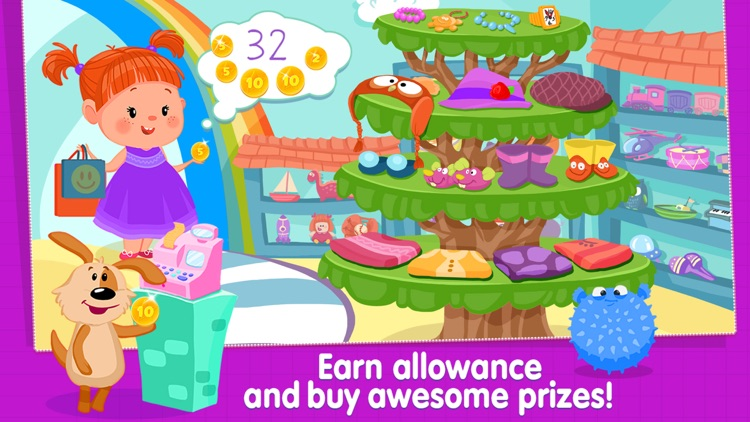 Izzie's Math - Fun Games for Kids 5-8 screenshot-2