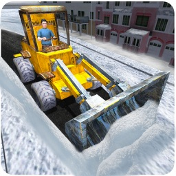 Winter Snow Plow Truck Simulator 3D – Real Excavator Crane Simulation Game