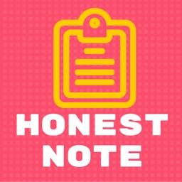 Honest Note
