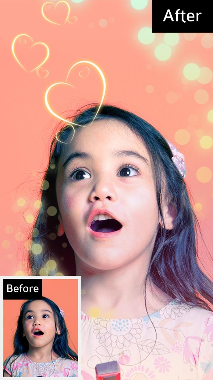 Bokeh Photo Editor – Colorful Light Camera Effects Screenshot