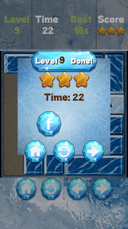 Unblock the Ice! - sliding puzzle screenshot-3