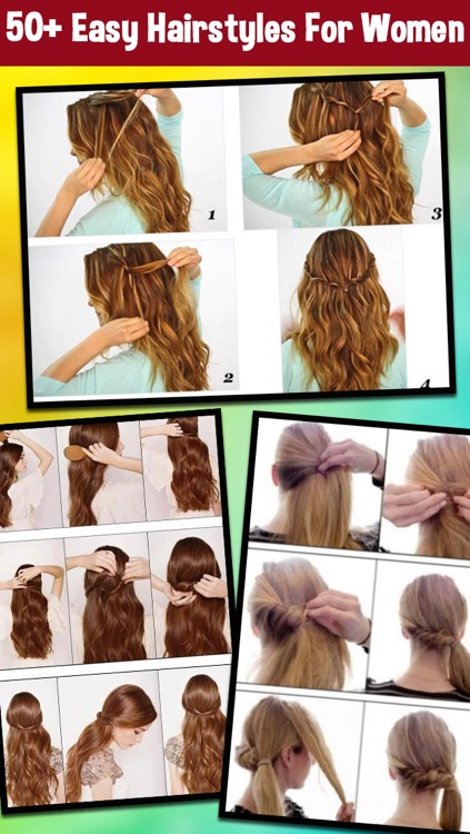 Women Hairstyles Step By Step - Easy Hairstyles For Girls by bhaumik ...