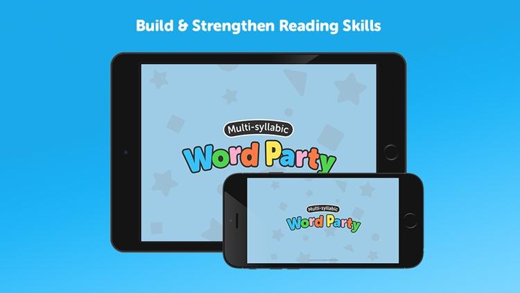 Multi-Syllabic Word Party screenshot-3