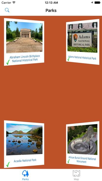 National Park Finder