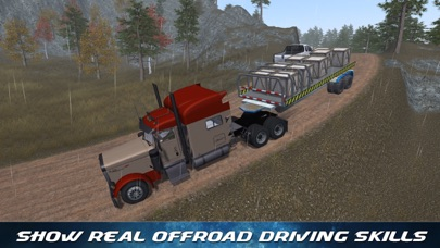 Off Road Trailer Truck Driver