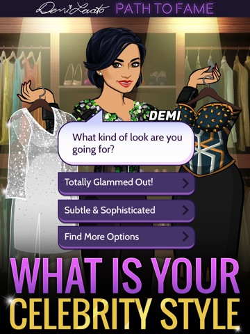 Скачать игру Demi Lovato: Path to Fame