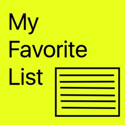 My Favorite List