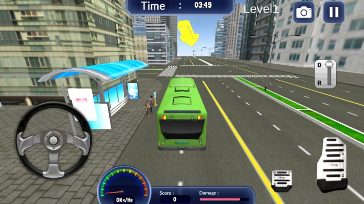 Extreme Bus Drive Simulator 3D -  City Tourist Bus Driving Simulation Game For FREE