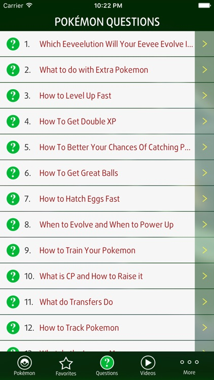 Guide for Pokémon GO Game screenshot-3