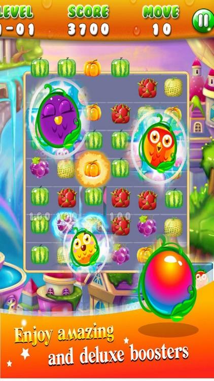 Fruit iland: Blash Sweet Game