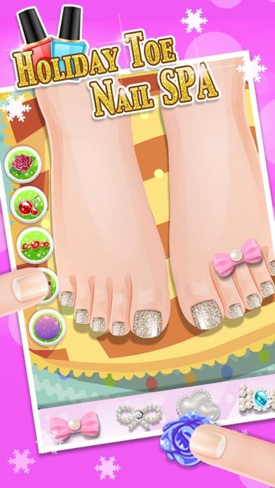 休日の足爪スパ - キッズゲームのおすすめ画像1