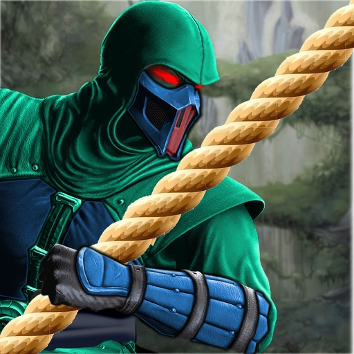 Rope Ninja Crush - Revenge Fly War Lords