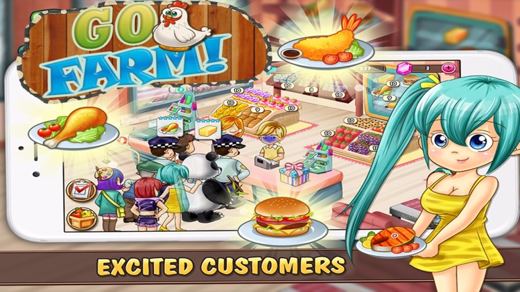 Go Farm PRO! Harvest in the blue moon : The business of farming simulation screenshot-4