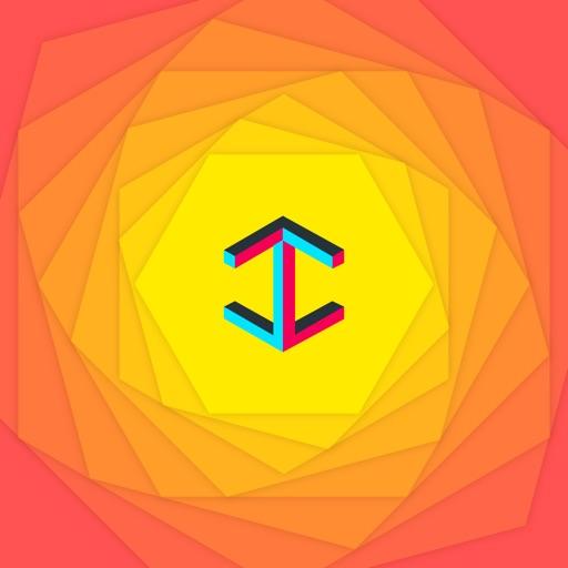 Color Illusions wallpaper & background iOS App