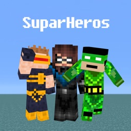 Super Heros Skin Wallpapers For Minecraft PE