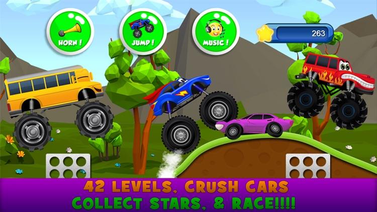 Monster Trucks Kids Racing Game screenshot-3