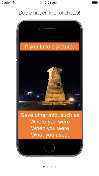 No EXIF - Photos Privacy by Removing Metadata