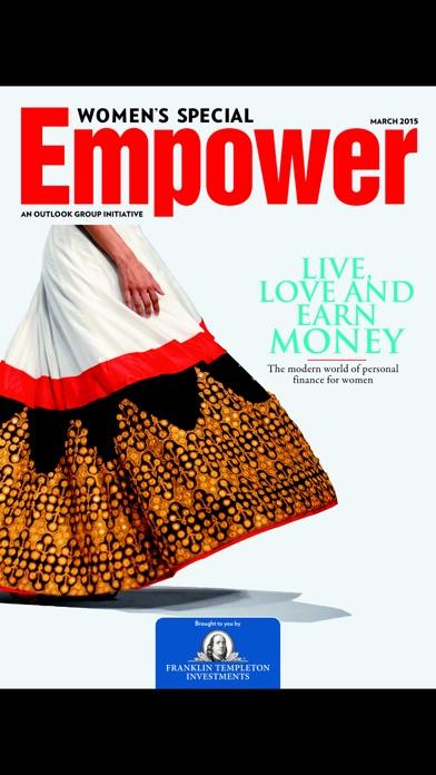 Outlook Women Special Empower Magazine review screenshots