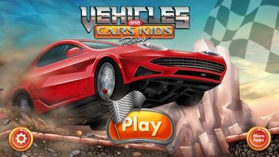 レースゲーム 子供のための  子供のための車のレースゲーム シンプルで楽しいです !無料紹介画像1