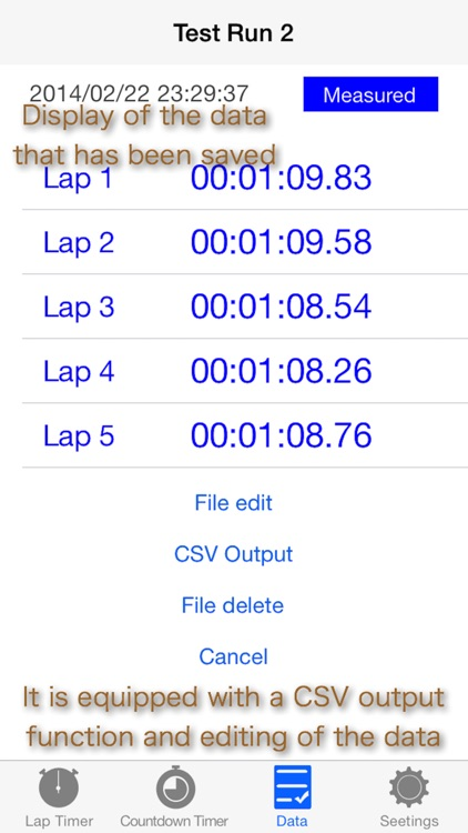 Lap Timer with Graph 2 Free screenshot-4