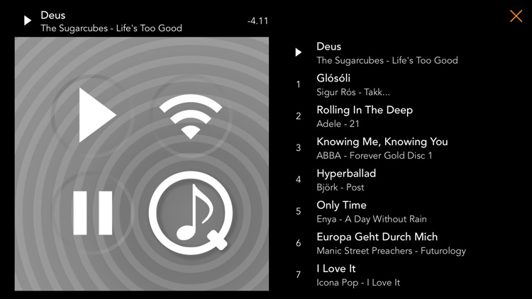 PlayMyQ HD - Music Player • Remote • Jukebox screenshot-3