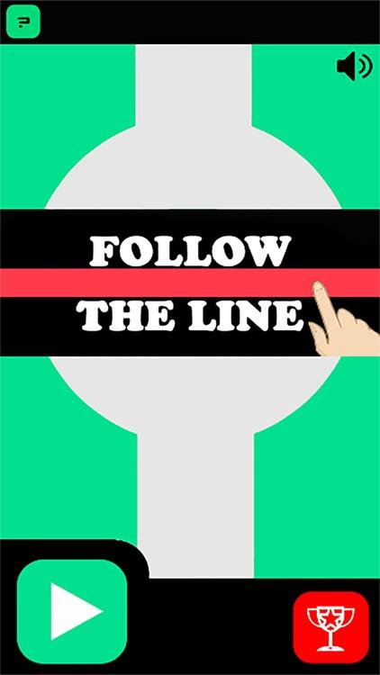 Follow The Line: Finger Drag Rush