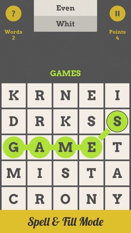 Spell Grid : Swipe Letters, Spell Words screenshot-1