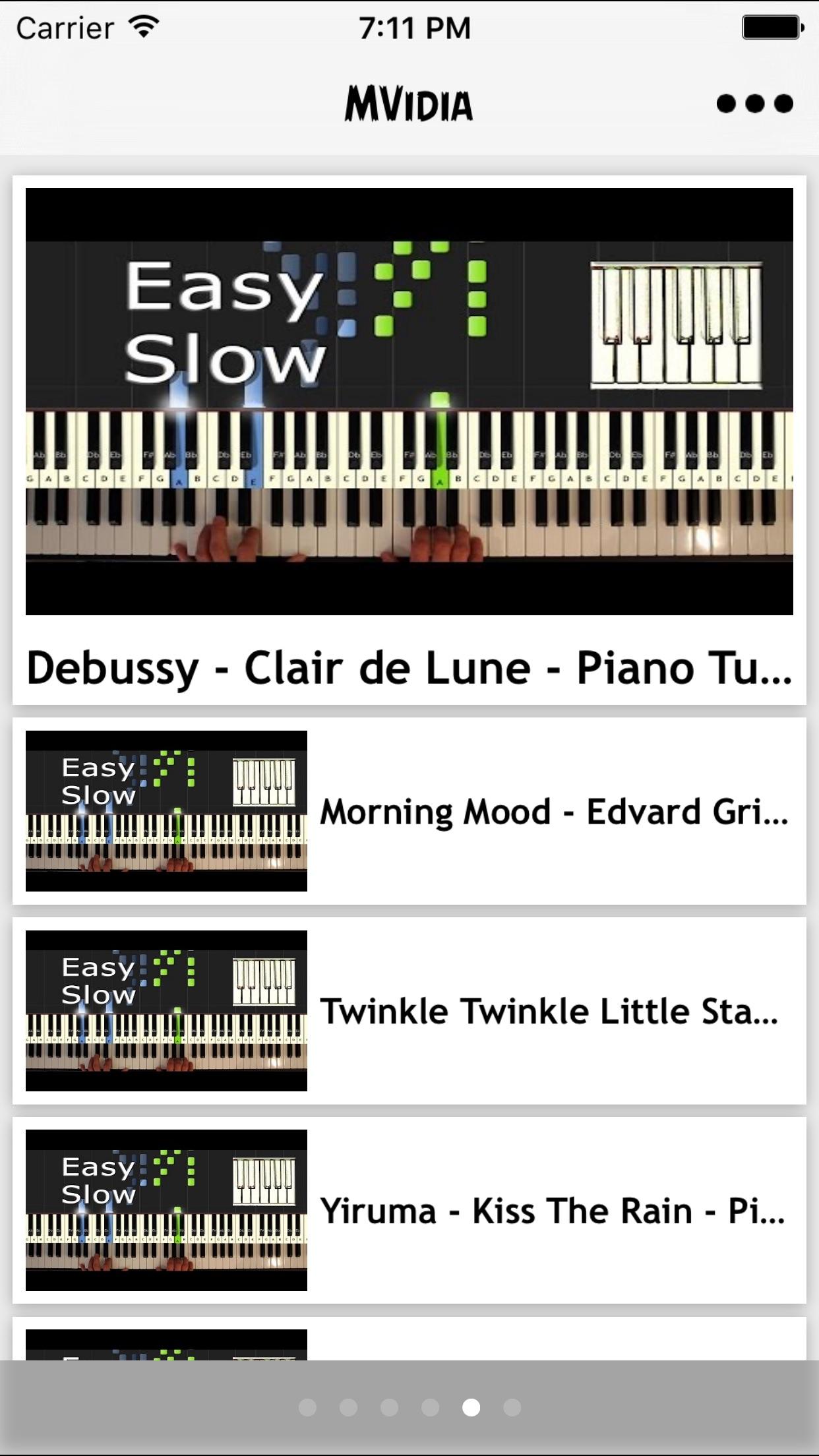 تعلم العزف على البيانو Screenshot