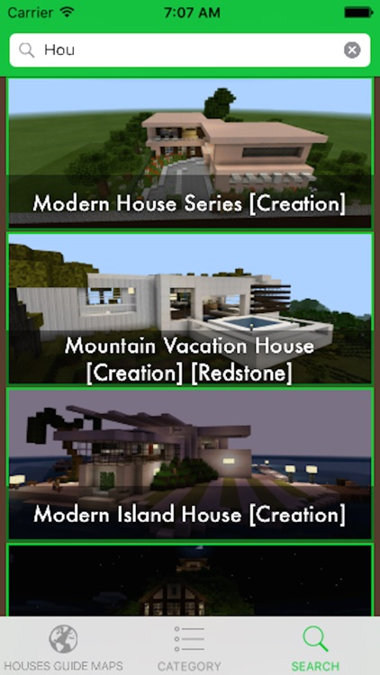 Houses for Minecraft - Database Guide Building Houses for Minecraft PE screenshot-3