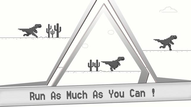 T-Rex Steve Widget Web Game - The offline Dinosaur in