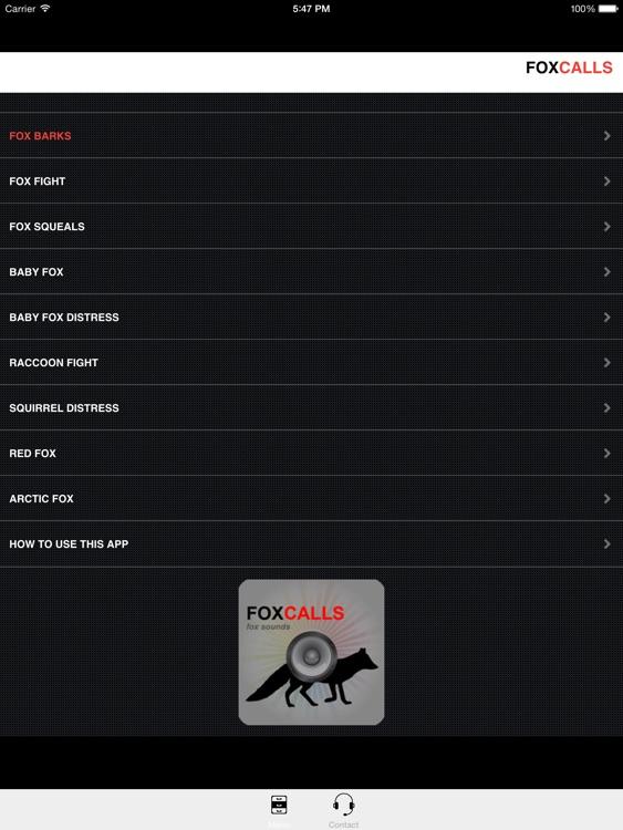 REAL Fox Calls & Fox Sounds for Fox Hunting ++ BLUETOOTH COMPATIBLE screenshot-0