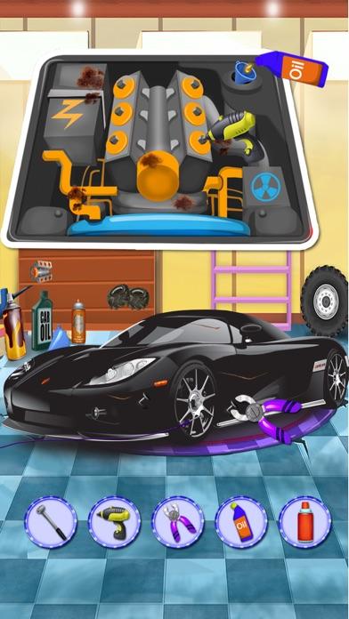 洗車サロン&デザイン、あなたの車 - 子供のための車のメカニックゲームのスクリーンショット3