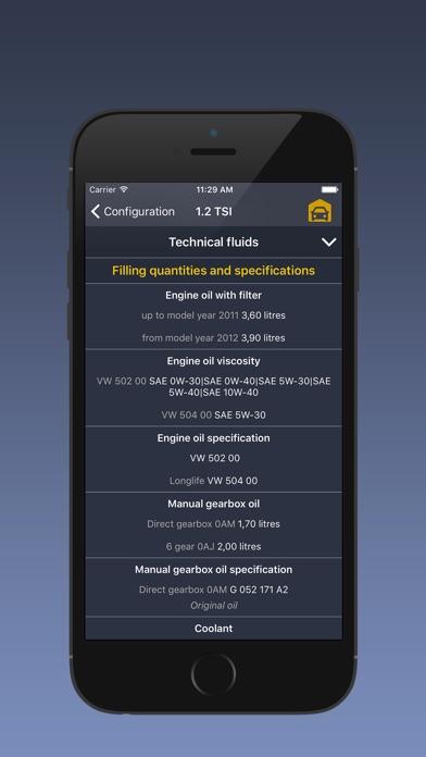 Screenshot for TechApp for Volkswagen in Poland App Store