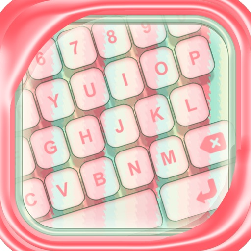 Best Free Pastel Color Keyboard – Design and Custom.ize Brand New Fashionable iPhone Look iOS App
