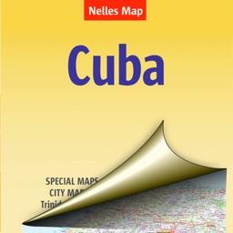 Cuba. Tourist map