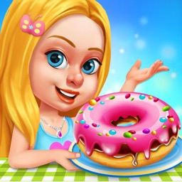 Kids Donut Shop - Sweet Bakery Delicious Adventure
